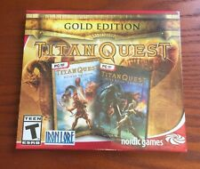 Titan Quest Gold Original PC Game +Immortal Throne Expansion Pack New for STEAM