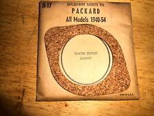 NOS Cork Water Outlet Gasket 1940-1954 Packard All Models H17