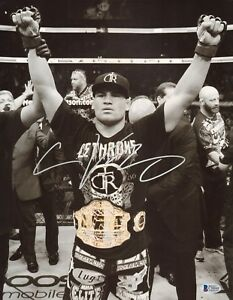 Cain Velasquez Signed 11x14 Photo BAS Beckett COA UFC Belt Picture Autograph 155