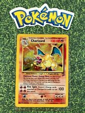⭐️ Charizard Holo Base set WotC 2 Edition 1st Gen Pokemon Card Non Shadowless 🎏