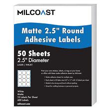Milcoast Matte Adhesive 2.5