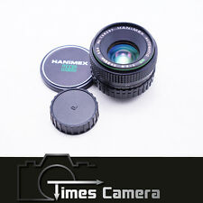 Hanimex Automatic MC 35mm f/2.8 f2.8 Manual Focus Lens, for Pentax PK K Mount