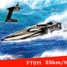Hot!FeiLun Ft011 2.4G Rc Boat High Speed Brushless Motor Built-in Water Cooling