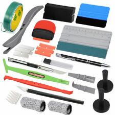 Auto Folien Set Werkzeuge Car Wrapping Rakel Filz 5M Messerloses Klebeband DE