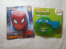 Marvel Spider-Man & TMNT Crust Cutter For Kids Lunch Bread Cutter New