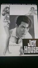 1964 Joy House vintage pressbook Jane Fonda Alain Delon French Crime cinema