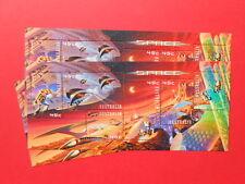 ## 2000 - SPACE - AUSTRALIA MINI STAMP SHEET