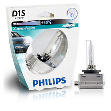 PHILIPS Xenon X-TremeVision D1S Upgrade Bulb - 85415XVS1 - SINGLE Bulb