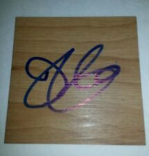 Drew Gooden Kansas Jayhawks Washington Wizards Signed Autograph Mini Floorboard