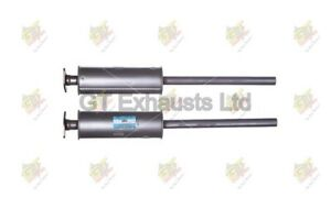 Ford Focus MK2 1.4, 1.6 2004 - 2012 Exhaust Middle Silencer