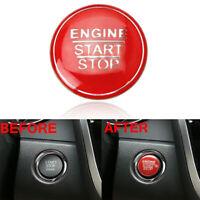 For Lexus IS RC NX GS Car Interior Engine Start Stop Button Cover Cap Decor Trim