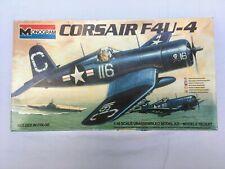 Monogram Corsair F4U-4 1:48 Scale Open Complete unassembled