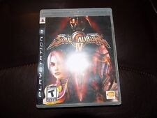 Soul Calibur IV (Sony PlayStation 3, 2008) EUC FREE USA SHIPPING
