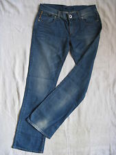 Miss Sixty Blue Jeans W25/L32 Denim regular fit extra low waist bootcut leg