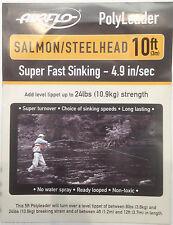 Airflo 10ft Salmon/Steelhead Poly Leaders*All Densities*Salmon Trout Sink Tip