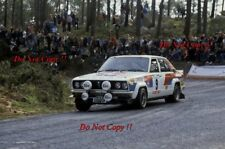 Tony Pond & Kevin Gormley Datsun Violet GT Portugal Rally 1982 Photograph 1