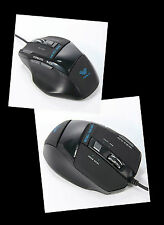 Aula Pro USB cablato 7 pulsanti 2000 DPI (REGOLABILE) USB Gaming Mouse multimediale