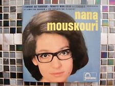 """EP NANA MOUSKOURI """"L'enfant au tambour""""+3 Fontana 460.936 Avec Languette"""