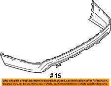 FORD OEM 16-17 Explorer Rear Bumper-Lower Cover FB5Z17F828A