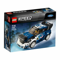 75885 LEGO Speed Champions Ford Fiesta M-Sport WRC Car Set 203 Pieces Age 7+