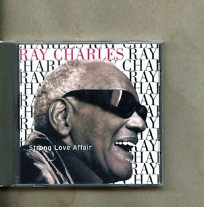 CD Ray Charles - Strong Love Affair Qwest 46107  nm Free Shipping