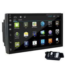 """In Dash 7"""" Android 8.1 WiFi 2 Din Car Radio Stereo no DVD GPS Navi Tablet USA"""