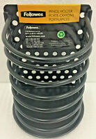1 Inch Diameter 50 Pack 52328 Black Fellowes Plastic Comb Binding Spines 200 Sheets