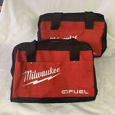 "(2) Milwaukee FUEL Bag 13"" x 10"" x 9"" Medium Contractor Tool Bags (From Kit)"