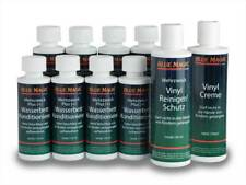 8 x 118ml Konditionierer + 1 Vinylreiniger + 1 Vinylcreme Blue Magic (tm)