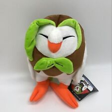 "Pokemon Sun/Moon Plush Dartrix #723 Soft Toy Doll Teddy Stuffed Animal 9"" NWT"