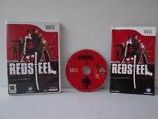 Red Steel - Juego Nintendo WII completo con instrucciones
