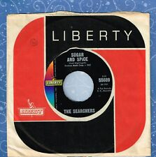 THE SEARCHERS Sugar And Spice b/w Saints And.....1964 45 RPM Liberty 55589 VG++