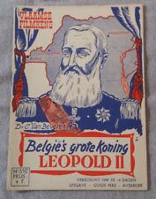 Vlaamse Filmkens N°316 België's grote Koning Leopold II Averbode
