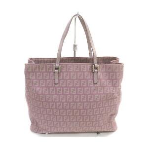 Fendi Tote Bag  Purple Nylon 1135022