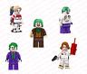 JOKER QUINN SUICIDE SQUAD NURSE BATMAN THE DARK KNIGHT MOVIE MINIFIGURE LEGO MOC