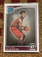 Collin Sexton 2018 Donruss Optic Rated Rookie Card RC Cavaliers #180 NBA