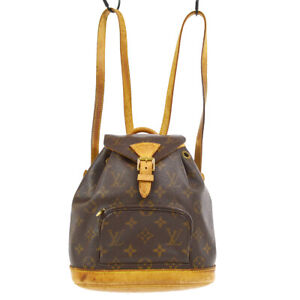 LOUIS VUITTON MINI MONTSOURIS BACKPACK HAND BAG MONOGRAM M51137 gei 61121