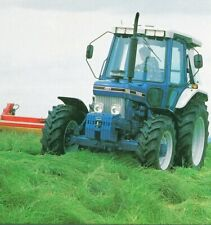 A3 Ford New Holland 7610 7810 8210 Tractor Brochure Poster Leaflet