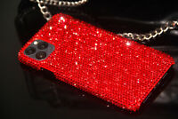 Bling Red Diamond Case Hard Cover For iPhone 11 Pro Max With SWAROVSKI ELEMENTS