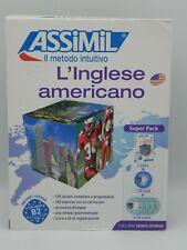 L'INGLESE AMERICANO - CORSO LINGUA ASSIMIL IL METODO INTUITIVO LIBRO + 5 CD