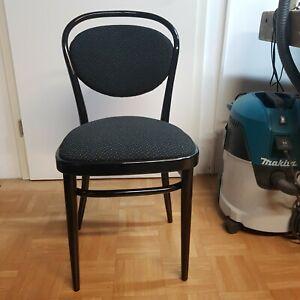 6 x Thonet 215 P der Kaffeehausstuhl Bugholzklassiker mit neuer Polsterung