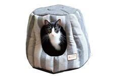 Aeromark C30CG Armarkat Heavy duty canvas Cat Bed Pearl & Putty