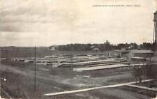 Cement & Tile Factory, Tracy, Minnesota 1910 Vintage Postcard