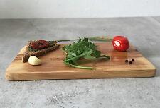 Planche à Découper Bois d'Olivier / Service & Déjeuner, rectangulaire, Fait main