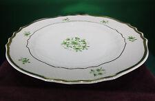 "Vintage Hollohaza, Hungary, ""Pannonia"" Hand Painted Dessert Plates - Set 0f 6"