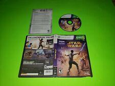 Kinect Star Wars Xbox 360 Getestet Sehr Gut Komplett Cib Trek Tanz Fitness