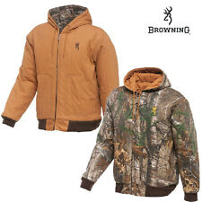 Browning Classic Insulated Reversible Jacket (M)- Brown/RTAP