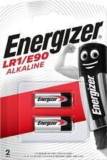 2 x Energizer® E90 N M9100 LR1 1.5V Alkaline Batteries Expiry 2023