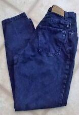 Vintage 90s ZENA Size 10 High Waist Mom Jeans 5 Pocket Dark Wash Straight Legs.