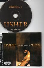 USHER RARE CD CONFESSIONS PART 2 MY BOO ALICIA KEYS NEW UNPLAYED